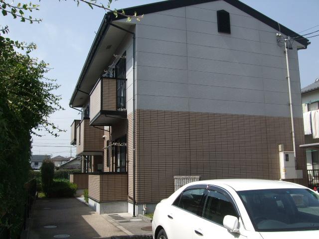 愛知県北名古屋市、西春駅徒歩19分の築14年 2階建の賃貸アパート