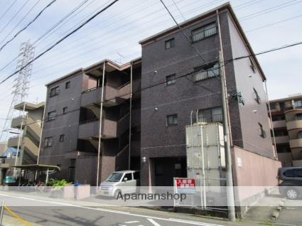 愛知県名古屋市西区、上小田井駅徒歩11分の築24年 4階建の賃貸マンション