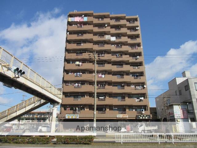 愛知県名古屋市西区、小田井駅徒歩5分の築31年 11階建の賃貸マンション