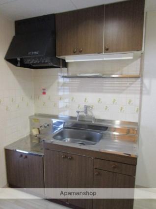 グローリアス城Ⅱ[1K/25.2m2]のキッチン