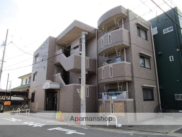 愛知県名古屋市西区、上小田井駅徒歩16分の築16年 3階建の賃貸マンション