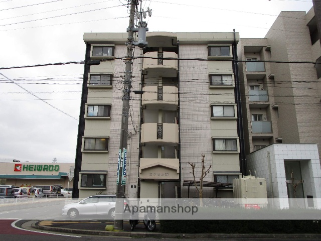 愛知県名古屋市西区、中小田井駅徒歩2分の築30年 5階建の賃貸マンション