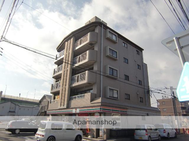愛知県名古屋市西区、上小田井駅バス6分中沼町下車後徒歩1分の築23年 5階建の賃貸マンション
