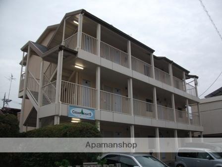 愛知県名古屋市瑞穂区、新瑞橋駅徒歩7分の築28年 3階建の賃貸マンション