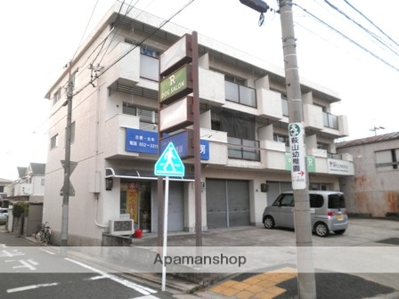 愛知県名古屋市瑞穂区、瑞穂運動場西駅徒歩7分の築39年 3階建の賃貸マンション