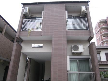 愛知県名古屋市南区、本笠寺駅徒歩11分の築9年 2階建の賃貸アパート