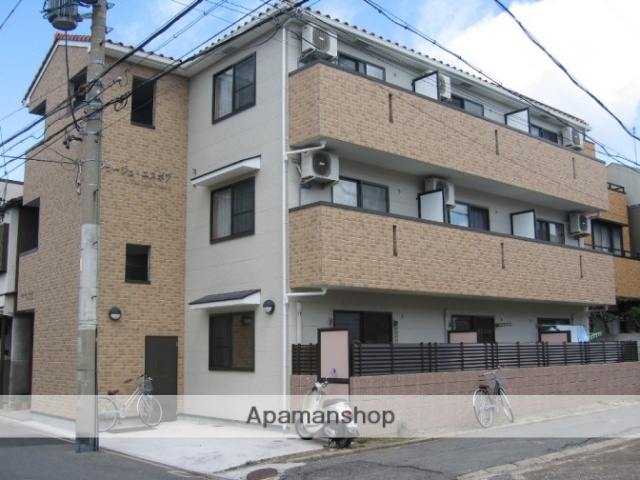 愛知県名古屋市瑞穂区、桜山駅徒歩18分の築11年 3階建の賃貸アパート
