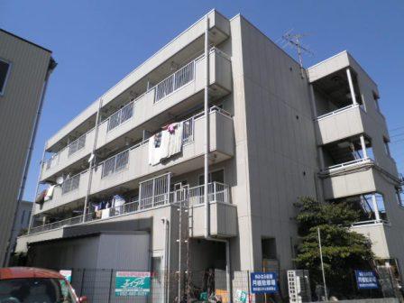愛知県名古屋市南区、大同町駅徒歩19分の築28年 4階建の賃貸マンション