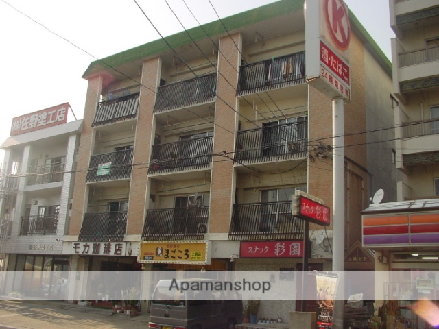 愛知県名古屋市南区、大高駅徒歩16分の築41年 4階建の賃貸マンション