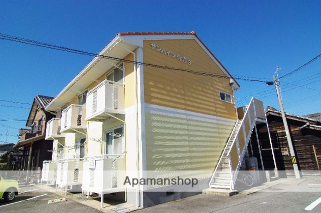 愛知県碧南市、新川町駅徒歩14分の築28年 2階建の賃貸アパート