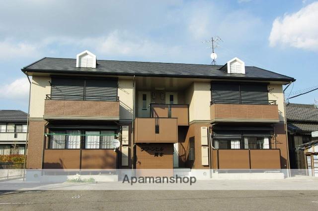 愛知県碧南市、碧南中央駅徒歩22分の築21年 2階建の賃貸アパート