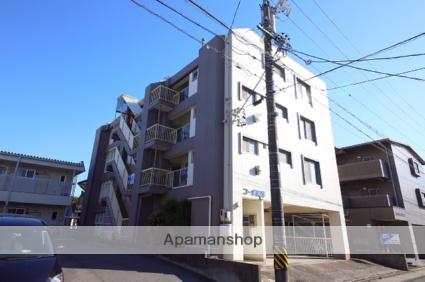 愛知県名古屋市天白区、塩釜口駅徒歩8分の築40年 4階建の賃貸マンション