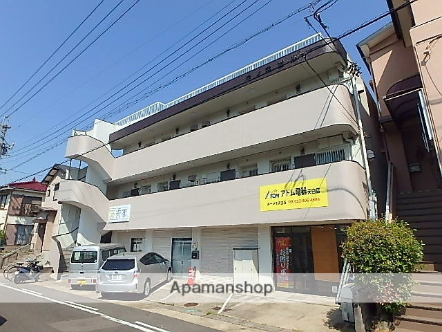 愛知県名古屋市天白区、塩釜口駅徒歩12分の築40年 3階建の賃貸マンション
