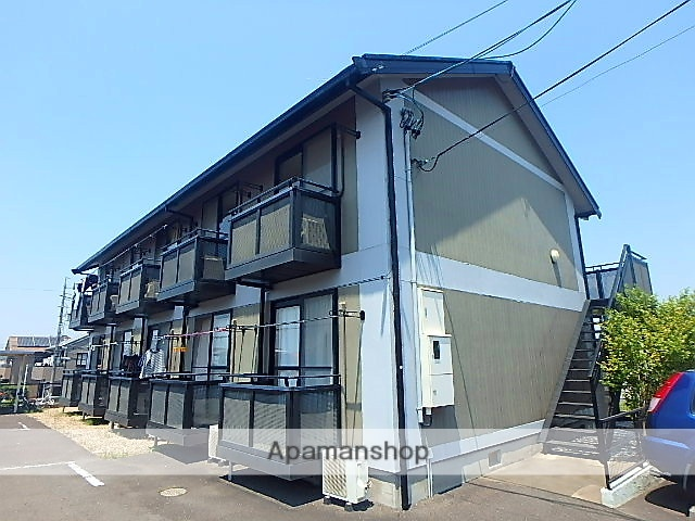 愛知県名古屋市天白区、植田駅徒歩7分の築19年 2階建の賃貸アパート