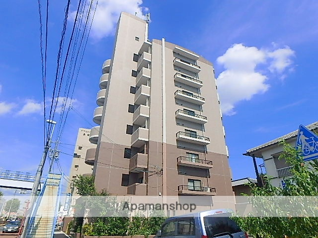愛知県名古屋市天白区、植田駅徒歩18分の築18年 8階建の賃貸マンション