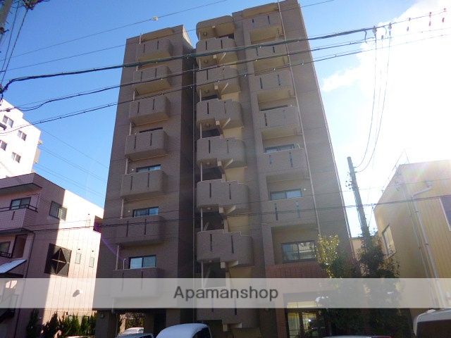 愛知県名古屋市天白区、原駅徒歩10分の築14年 8階建の賃貸マンション