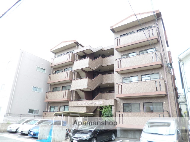 愛知県名古屋市天白区、植田駅徒歩13分の築18年 4階建の賃貸マンション