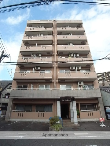 愛知県名古屋市熱田区、西高蔵駅徒歩10分の築23年 8階建の賃貸マンション