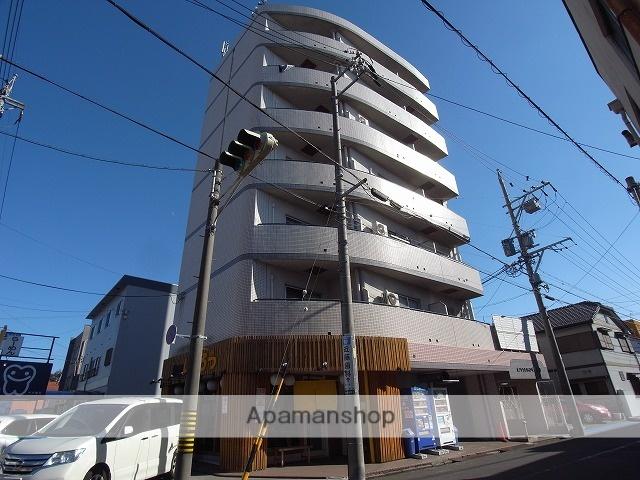 愛知県名古屋市中川区、日比野駅徒歩10分の築25年 7階建の賃貸マンション