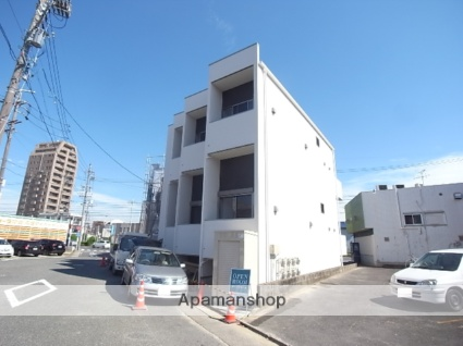 愛知県名古屋市中川区、荒子駅徒歩14分の新築 2階建の賃貸アパート