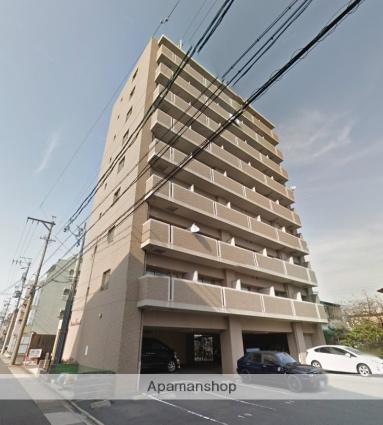 愛知県名古屋市昭和区、金山駅徒歩14分の築10年 9階建の賃貸マンション
