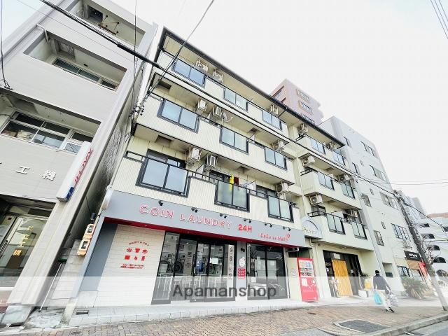 愛知県名古屋市中区、東別院駅徒歩8分の築20年 4階建の賃貸アパート