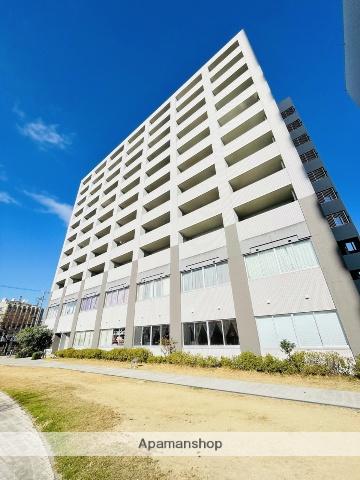 愛知県名古屋市熱田区、金山駅徒歩10分の築9年 11階建の賃貸マンション
