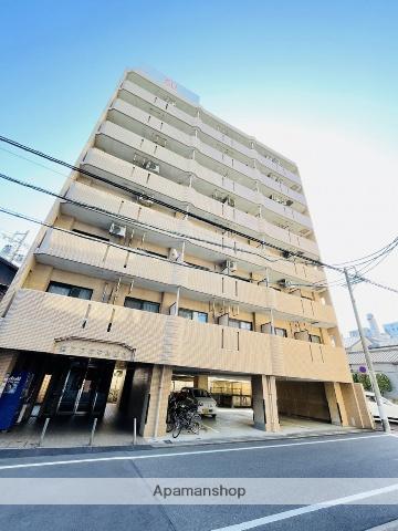 愛知県名古屋市中区、金山駅徒歩7分の築20年 8階建の賃貸マンション