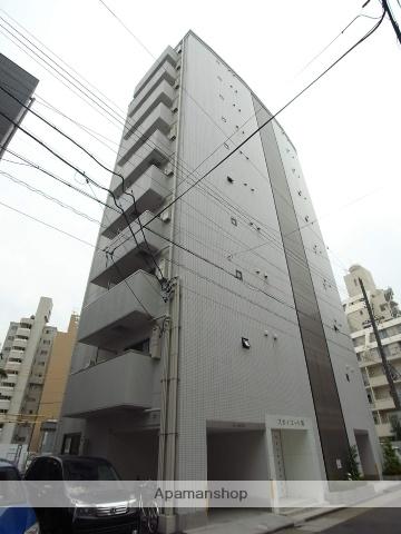 愛知県名古屋市中区、新栄町駅徒歩5分の築3年 10階建の賃貸マンション