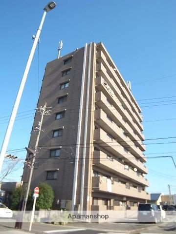 愛知県名古屋市中川区、南荒子駅徒歩2分の築20年 9階建の賃貸マンション