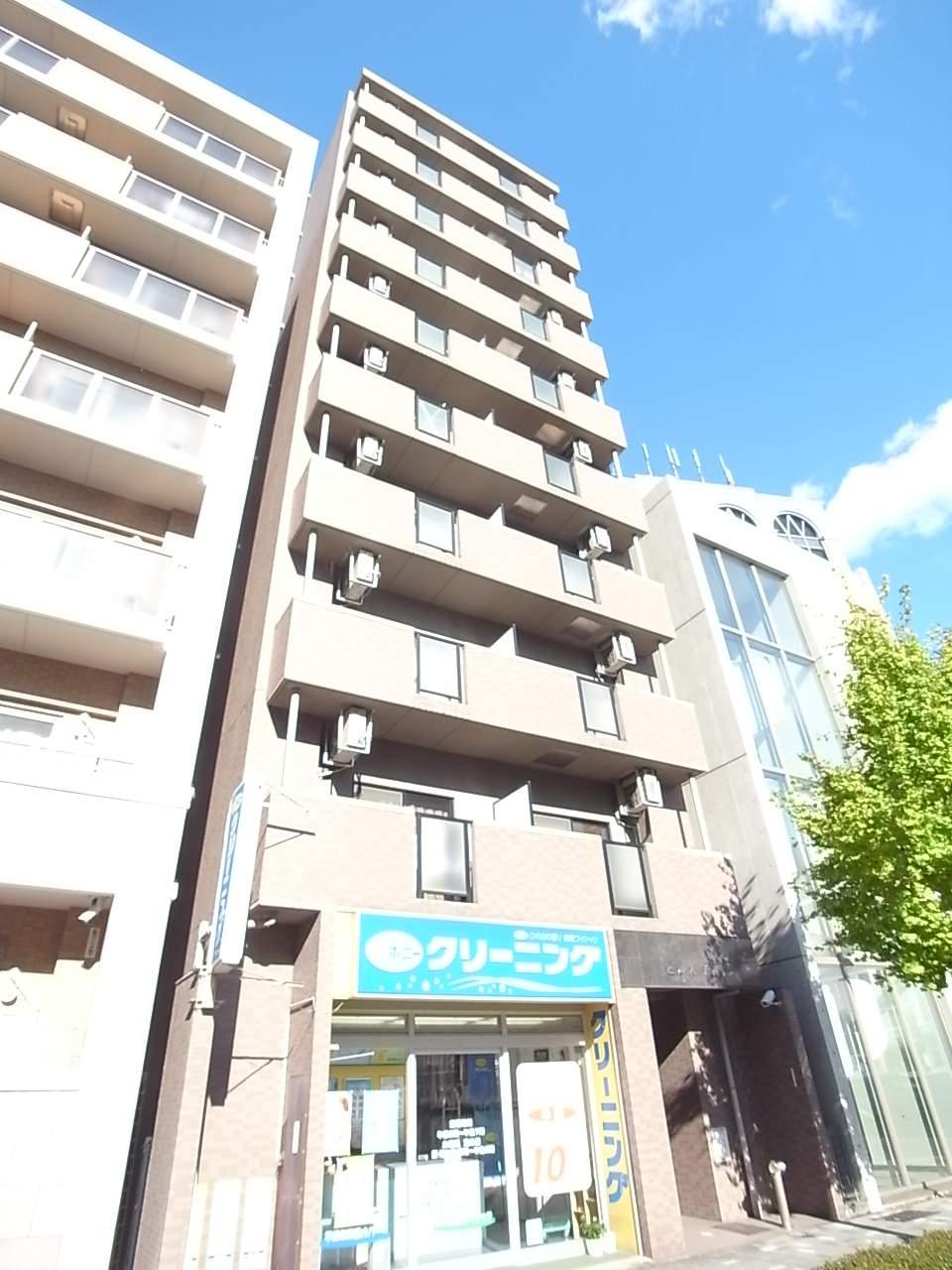 愛知県名古屋市中区、新栄町駅徒歩9分の築17年 10階建の賃貸マンション
