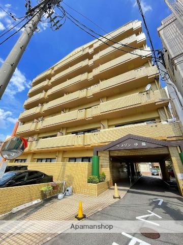 愛知県名古屋市中区、東別院駅徒歩10分の築28年 7階建の賃貸マンション
