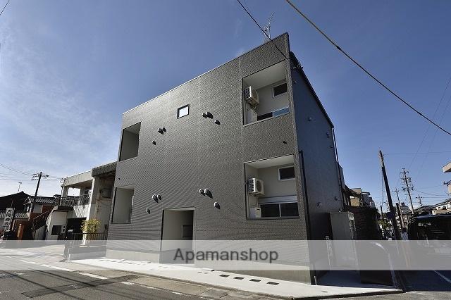 愛知県名古屋市熱田区、神宮西駅徒歩14分の築1年 2階建の賃貸アパート