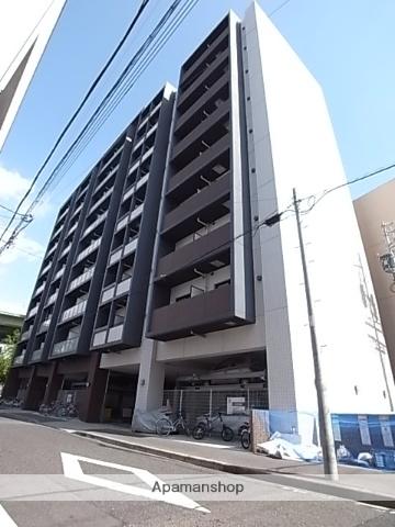愛知県名古屋市中区、鶴舞駅徒歩7分の築8年 9階建の賃貸マンション