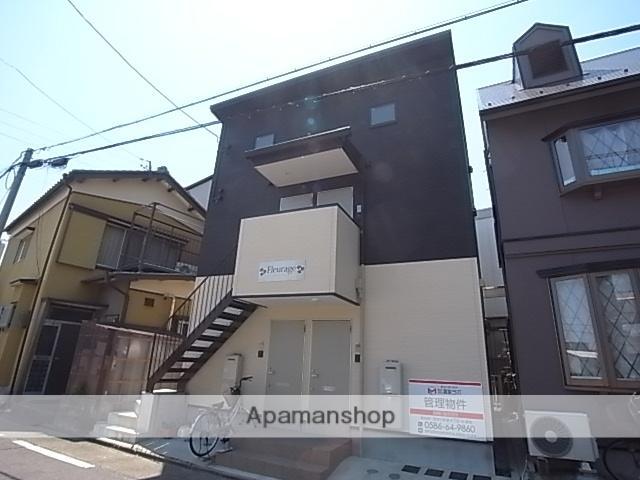 愛知県名古屋市中川区、日比野駅徒歩13分の新築 2階建の賃貸アパート