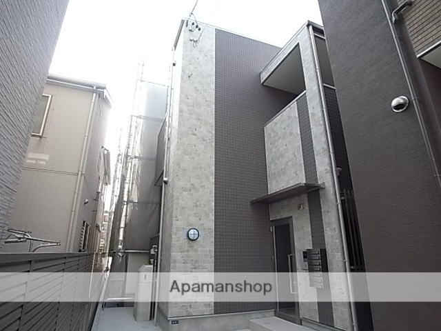 愛知県名古屋市熱田区、日比野駅徒歩17分の築1年 2階建の賃貸アパート