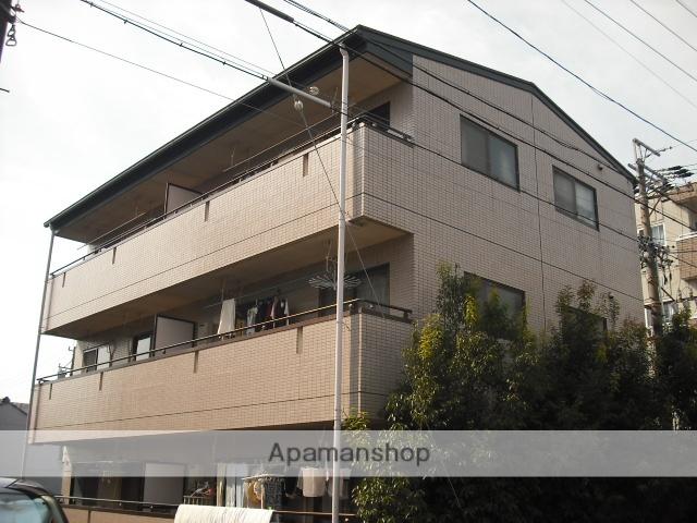 愛知県名古屋市熱田区、日比野駅徒歩8分の築22年 3階建の賃貸マンション