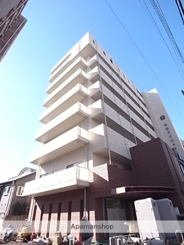 愛知県名古屋市熱田区、金山駅徒歩3分の築3年 8階建の賃貸マンション