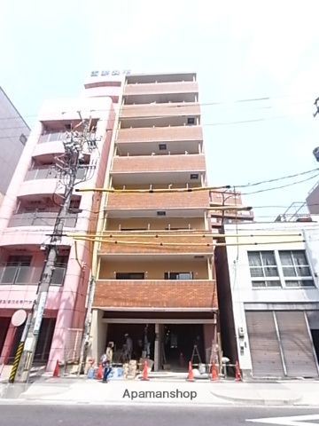 愛知県名古屋市中区、金山駅徒歩6分の築3年 8階建の賃貸マンション