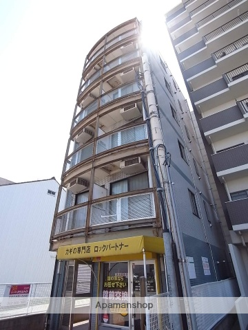 愛知県名古屋市中川区、南荒子駅徒歩14分の築25年 6階建の賃貸マンション