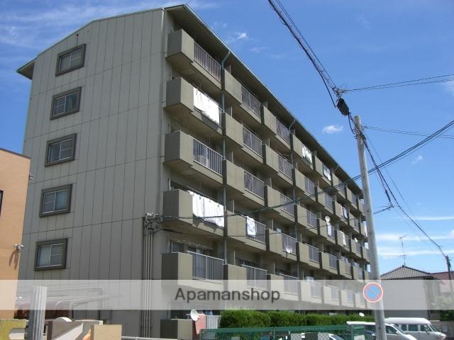 愛知県名古屋市中川区、南荒子駅徒歩24分の築28年 6階建の賃貸マンション