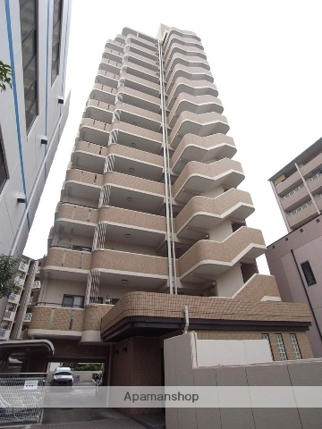 愛知県名古屋市中川区、金山駅徒歩15分の築23年 14階建の賃貸マンション