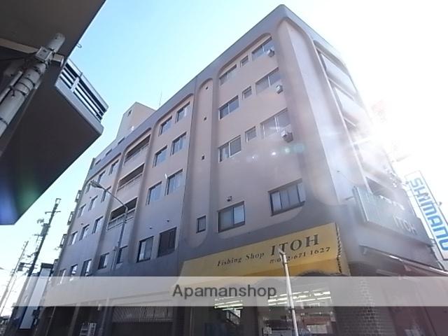 愛知県名古屋市熱田区、熱田駅徒歩2分の築44年 5階建の賃貸マンション