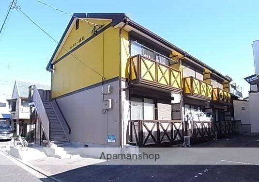 愛知県名古屋市熱田区、神宮西駅徒歩20分の築23年 2階建の賃貸アパート
