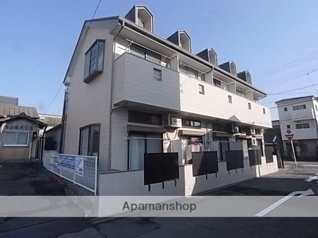 愛知県名古屋市熱田区、六番町駅徒歩20分の築21年 2階建の賃貸アパート