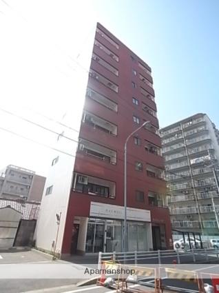愛知県名古屋市熱田区、日比野駅徒歩20分の築18年 9階建の賃貸マンション
