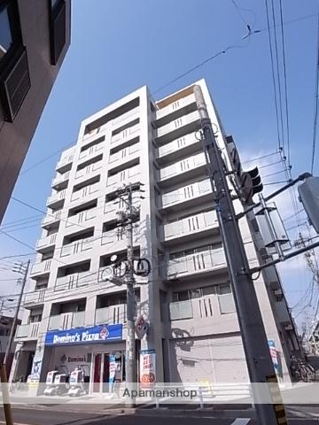 愛知県名古屋市熱田区、西高蔵駅徒歩18分の築9年 9階建の賃貸マンション