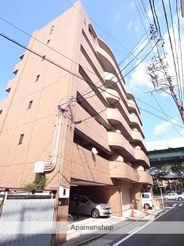 愛知県名古屋市昭和区、鶴舞駅徒歩10分の築21年 7階建の賃貸マンション
