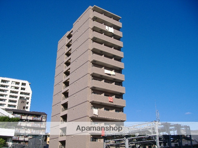 愛知県名古屋市東区、新栄町駅徒歩9分の築9年 12階建の賃貸マンション