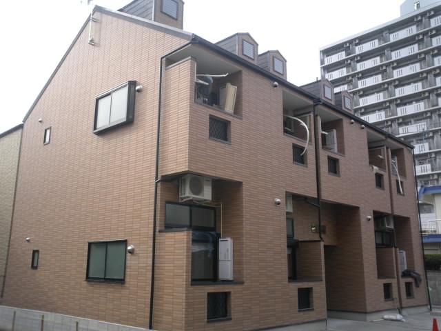 愛知県名古屋市北区、尼ヶ坂駅徒歩12分の築9年 2階建の賃貸アパート